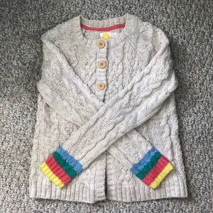 Mini Boden Girl's Cardigan Sweater. Like new!!
